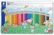 Staedtler 36 Colouring Pencils in Sport Design Tin - Assorted Colours