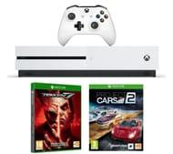 MICROSOFT Xbox One S, Tekken 7 & Project Cars 2 Bundle - 1 TB Only £219