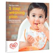 Free Weaning Guide When You Spend £8 on Cow & Gate Stage 1 Baby Food