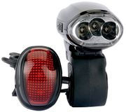 Draper 44348 LED Wind-up Bike Light Set