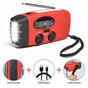 AM/FM Radio with Flashlight & Power Bank Charger