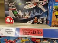 Sainsbury's Lego Star Wars X-Wing Starfighter Trench Run 50%off