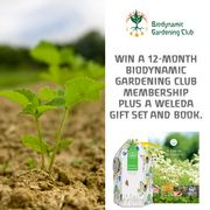 Win Weleda Biodynamic Gardening Club + Goodies