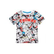 Multicoloured Thomas the Tank Engine Print T-Shirt from £3.50