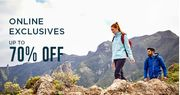 Up to 70% off Online Exclusives from CRAGHOPPER