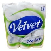 Triple Velvet 9 Pack Toilet Roll £3.75 at Fulton Foods