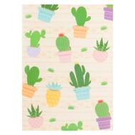 Aztec Cactus A4 Notebook
