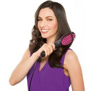 Simply Straight: Heated Ceramic Hair Straightener Brush