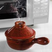 Best Price Microwave Hot Pot: Ceramic Heat Retaining & Steam Releasing Bowl