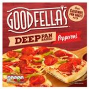 Goodfella's Deep Pan Baked Meat Feast/Pepperoni/Cheese 415g