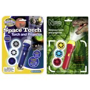 Brainstorm Toys Space Dinosaur Torch Projector Twin Pack - Save £8