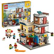 SAVE £10 - LEGO CREATOR: 3-in-1 Townhouse Pet Shop and Cafe (31097)