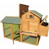 Large Kingsbourne Chicken Coop Suitable for up to 4 Birds Depending on Size B