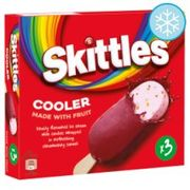 Skittles Ice Cream Stick Lollies 3X100ml