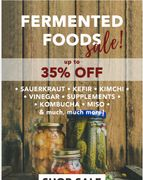Up to 35% off ..... Gut Health products.....