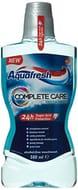 Aquafresh Complete Care Mouthwash with Fluoride, 500 Ml, Fresh Mint