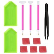 10-Piece Art & Crafts Accessory Set + £1 Delivery