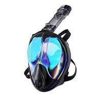 ENKEEO Snorkel Mask, Full Face Snorkeling Mask Diving Mask
