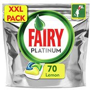70 Fairy All-in-One Platinum Dishwasher Tablets CHEAPER THAN THE SUPERMARKET