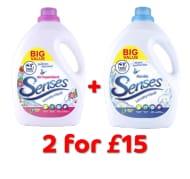 3L Senses 100 Wash X 2 for £15