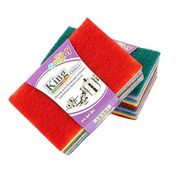 High Quality Scouring Pads Mixed Color (10 Pack)
