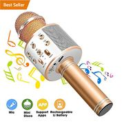 Fancartuk Wireless Microphone Karaoke with Bluetooth Speaker - Free Delivery