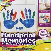 Handprint Memories - Mould and Paint Memory Kit