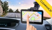 5-Piece Touchscreen GPS Sat Nav - UK & EU Maps