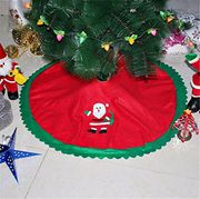 Christmas Tree Skirt Base Cover Decoration (Red) Only £2.06 Delivered