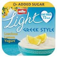 Muller Light Greek Style Luscious Lemon Yoghurts 4 X 120g