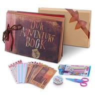 Our Adventure Book Pixar up Handmade DIY Family Scrapbook, Wedding Photo Album