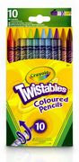 Crayola Multi Twistables Colouring Pencils (Pack of 10)
