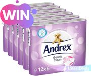Win Crap Competition - 72 Andrex Loo Rolls!