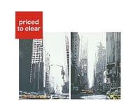 New York Taxi Canvas Art Set