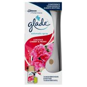 Glade 3 in 1 Luscious Cherry and Peony Automatic Spray Air Freshener 269ml