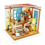Deal Stack!Robotime Dolls House Kit + Free Pegged Puzzle for £9.9 only