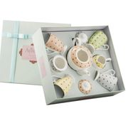 Aynsley China 7piece Tea Set, Gift Boxed