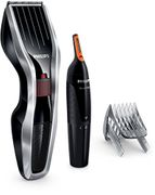 Philips Series 5000 Hair Clipper with Titanium Blades and Nose Trimmer,