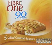 Fibre One Salted Caramel Squares X 25. Add on or Subscribe and Save
