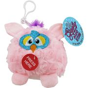 Giggly Owl Keychain - Assorted - Squeeze Its Tummy to Hear It Giggle