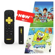 Argos Now Tv Voice Stick plus 3 Months Kids Pass