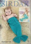 Baby & Childrens Mermaid Snuggler Snuggly Knitting Pattern
