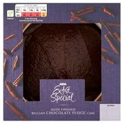 ASDA Extra Special Hand Finished Belgian Chocolate Fudge Cake