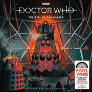 """Win Doctor Who - the Evil of the Daleks 12"""" Album Box Set worth £69.99"""