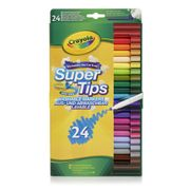 Crayola Supertips 24 Pack FREE C&C