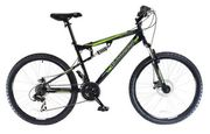 Muddyfox Livewire Dual Suspension Mens Mountain Bike 18 Inch Frame
