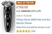 AMAZIN DEAL of the (MON)DAY: Philips Series 9000 Wet and Dry Electric Shaver