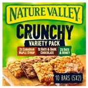 Nature Valley Crunchy Variety Cereal Bars 5 X 42g