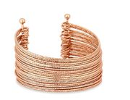 Mood - Gold Plated Gold Statement Cuff Bracelet
