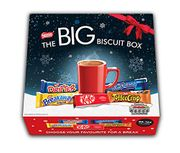 NESTLE NL47423 the Big Biscuit Box 70 Chocolate Biscuit Bars